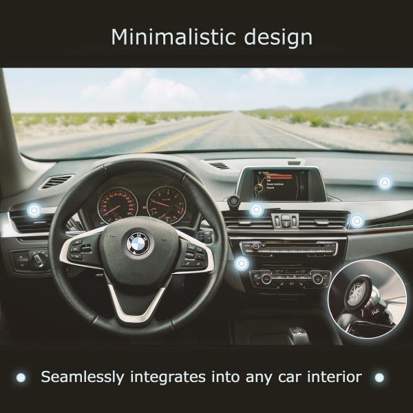 Suport magnetic pentru telefon pe bordul masinii [4]