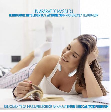 Aparat masaj cervical, portabil, USB [5]