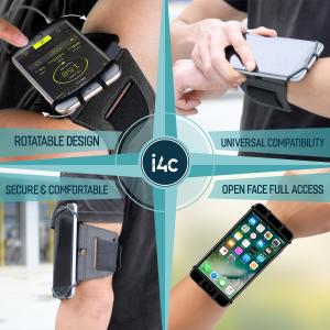 Husa Banderola pentru brat / mana cu 360° rotire si cu acces usor la ecran, pentru alergat, sala, bicicleta, drumetii, Negru [3]