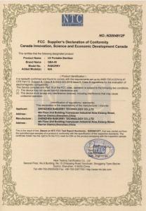 Lampa sterilizatoare UV-C 2W bactericida. [9]