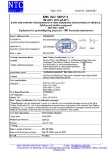 Lampa sterilizatoare UV-C 2W bactericida. [8]