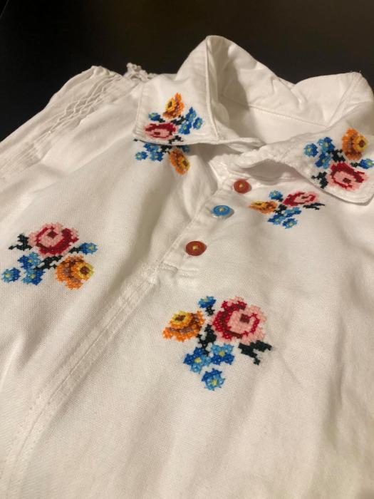 camasa traditionala barbati motiv rosu [6]