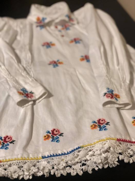 camasa traditionala barbati motiv rosu [3]