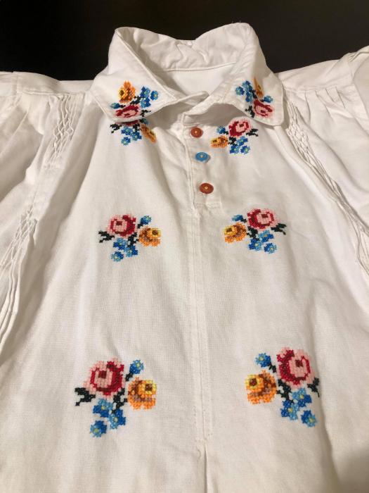 camasa traditionala barbati motiv rosu [5]