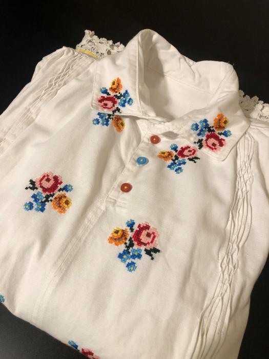 camasa traditionala barbati motiv rosu [2]
