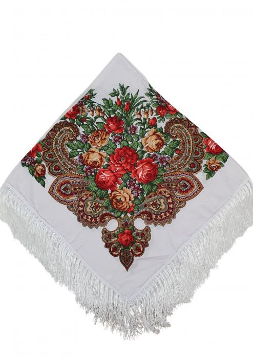 Batic etno mare alb Bujori 4 - Copie [4]