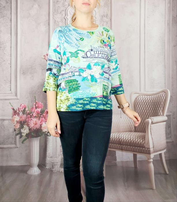 Bluza cu imprimeu- Flaviana 11 [0]