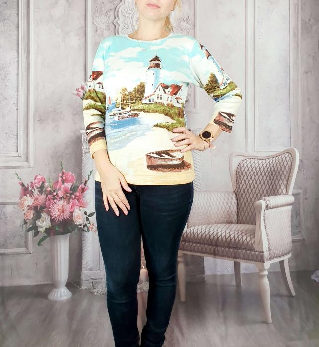 Bluza cu imprimeu- Flaviana 12 [0]
