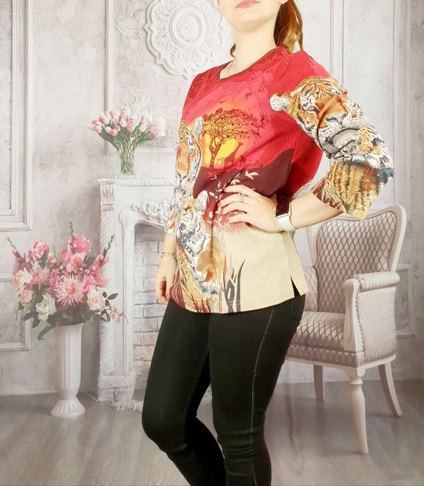 Bluza cu imprimeu- Flaviana 13 [2]