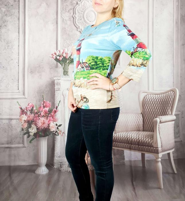 Bluza cu imprimeu- Flaviana [2]