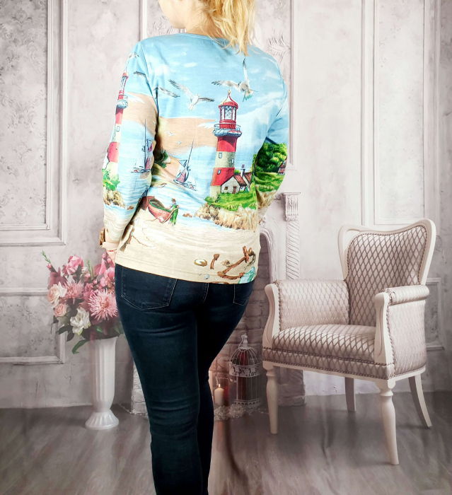 Bluza cu imprimeu- Flaviana [1]