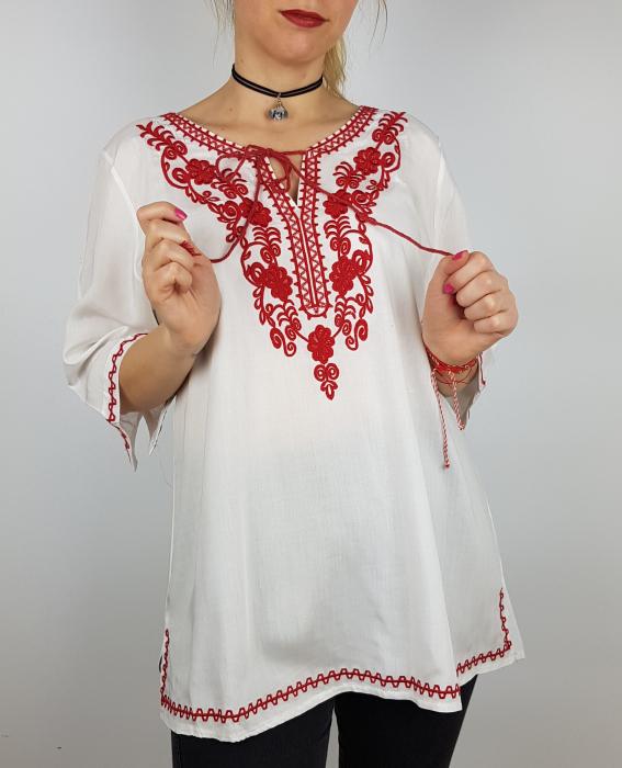 Bluza cu tematica traditionala Violeta 0