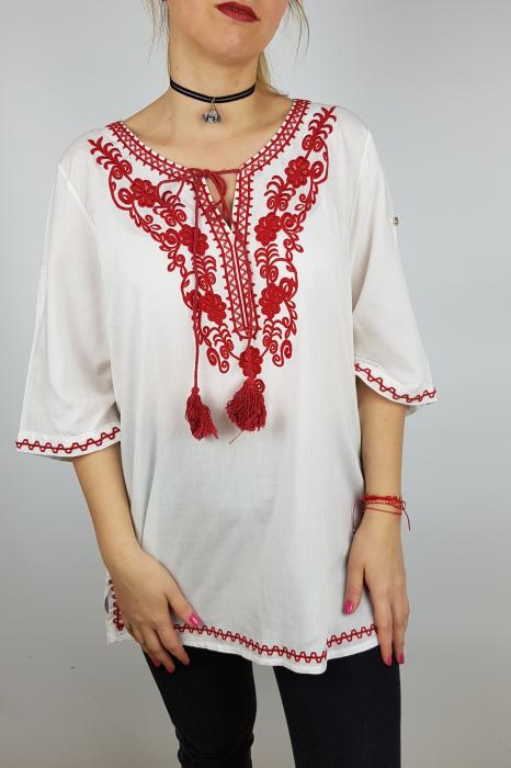 Bluza cu tematica traditionala Violeta 1