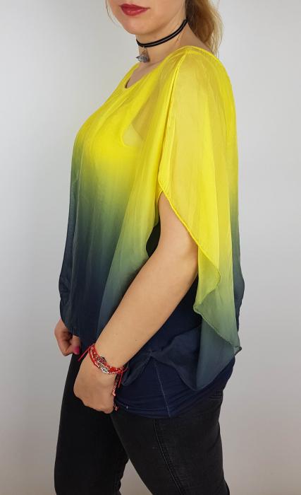 Bluza din Vascoza - Leontina 1