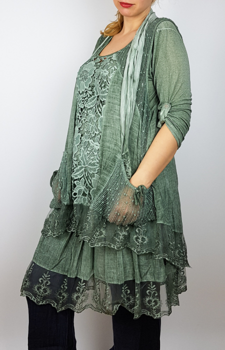 Bluza lunga Flori [1]
