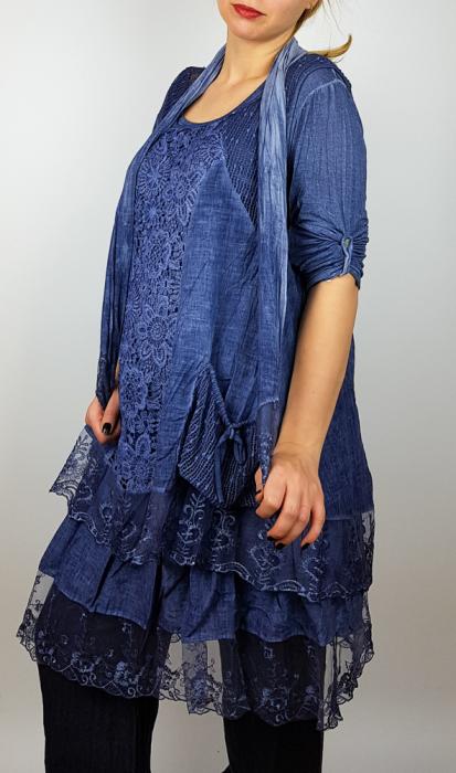 Bluza/rochie lunga Flori 2 [0]