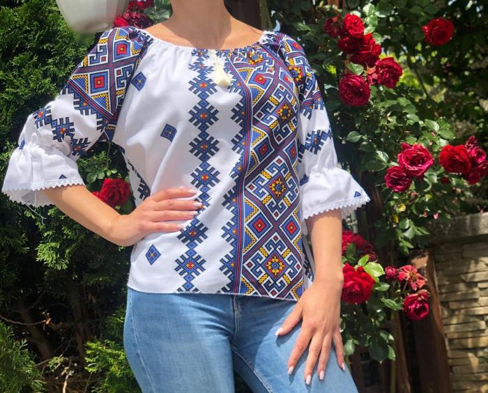 Bluza stilizata cu motive traditionale Daniela 12 [0]