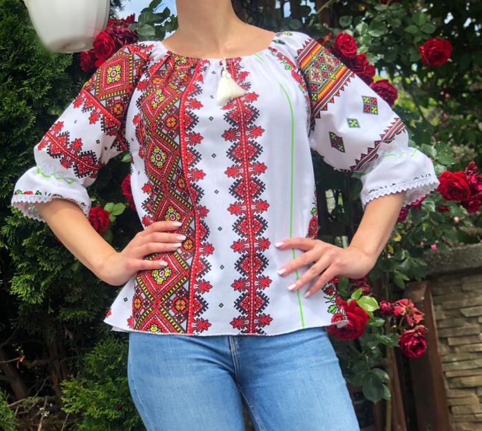 Bluza stilizata cu motive traditionale Daniela 14 [0]