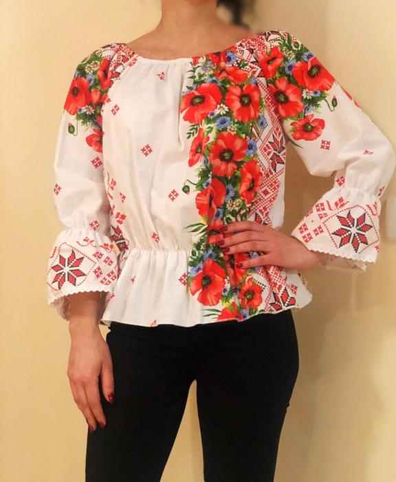 Bluza stilizata cu motive traditionale Daniela 5 [0]