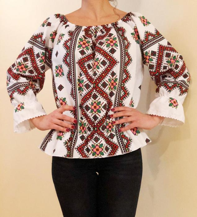 Bluza stilizata cu motive traditionale Daniela 6 [0]