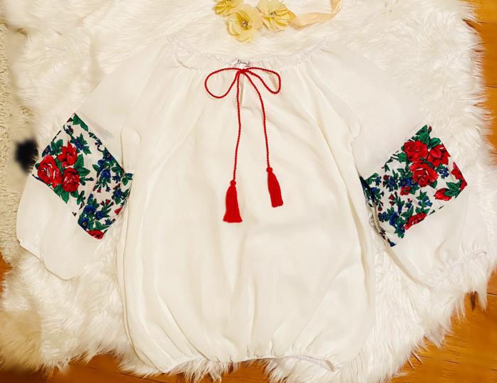 Bluza stilizata cu motive traditionale Margareta 2 [2]