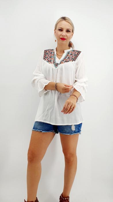 Bluza stilizata traditional Olivia 5 [6]