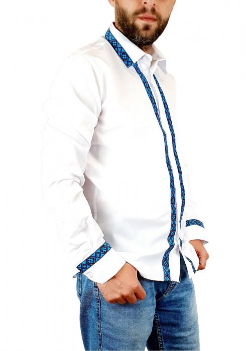 Camasa barbateasca cu motive traditionale - Model I [3]