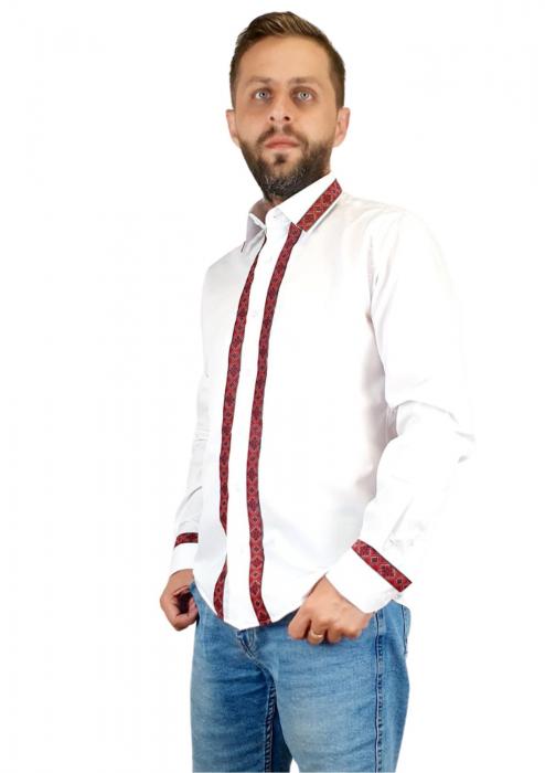 Camasa barbateasca cu motive traditionale - model I [1]