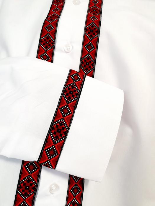 Camasa barbateasca cu motive traditionale - model I [4]