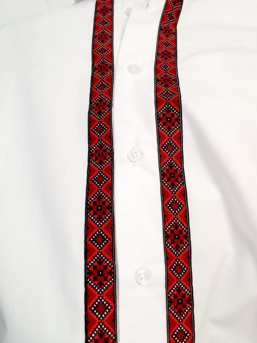 Camasa barbateasca cu motive traditionale - model I [5]