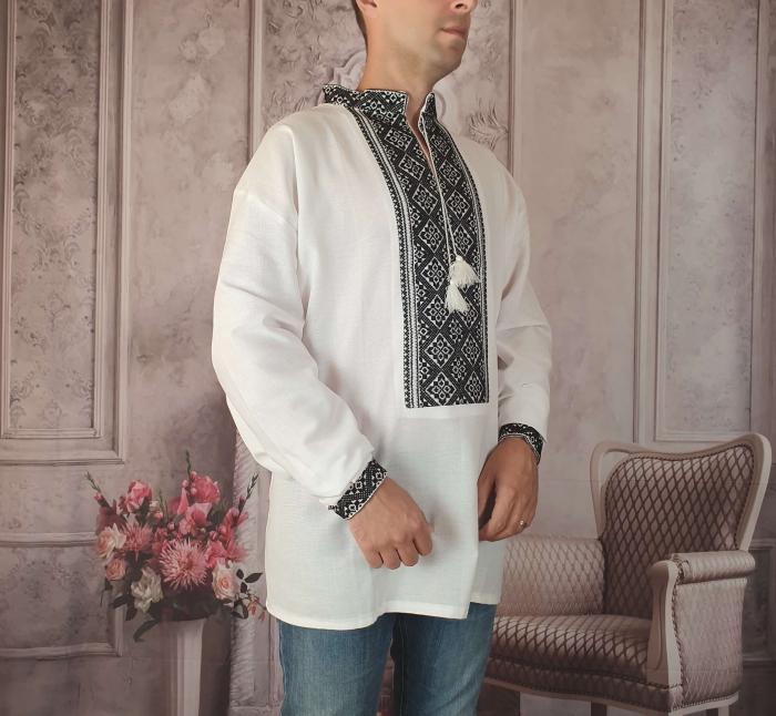 Camasa Traditionala cusuta manual Dinu 11 [1]