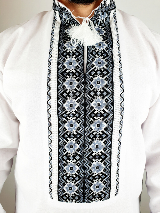 Camasa Traditionala cusuta manual Dinu [2]