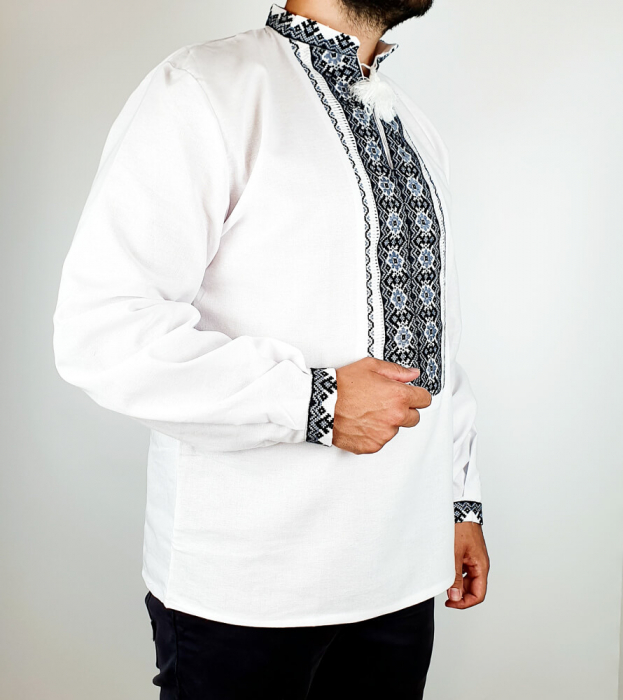 Camasa Traditionala cusuta manual Dinu [3]