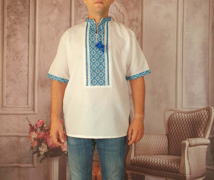 Camasa Traditionala cusuta manual Dinu 5 [0]