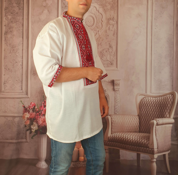 Camasa Traditionala cusuta manual Dinu 7 [1]
