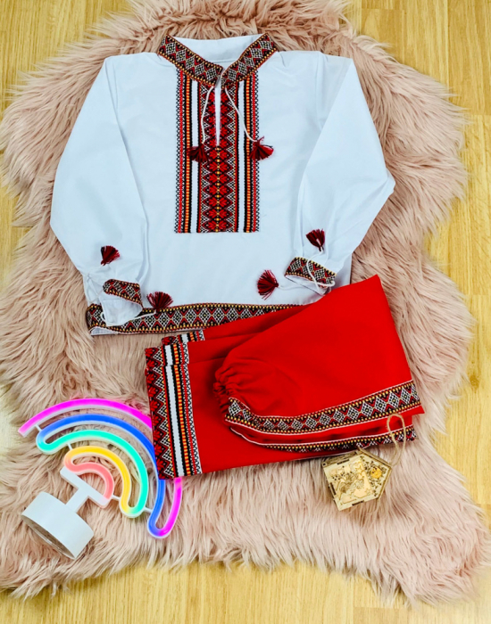 Costum popular baieti Alin 0