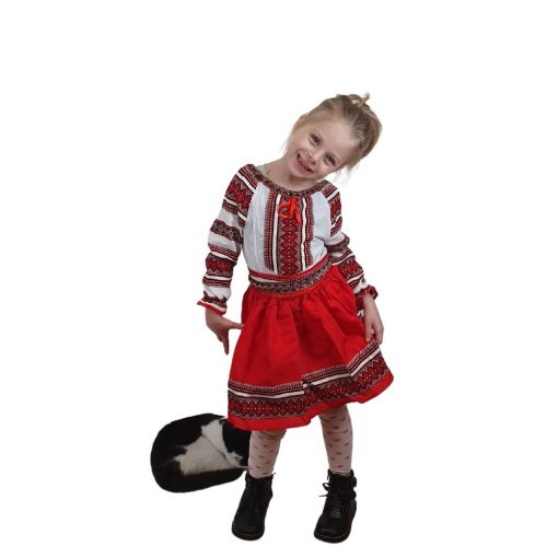 Costum Popular fetite Claudia 0