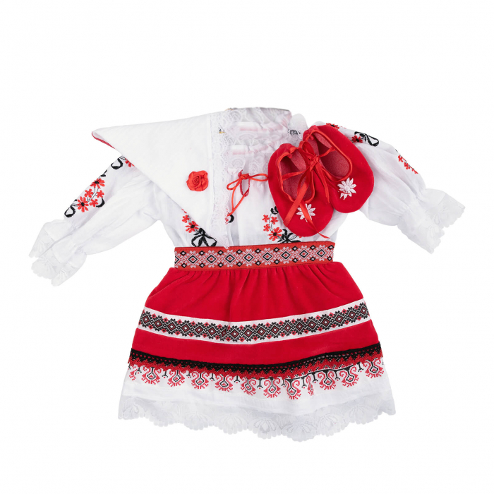 Costum national fete - zona Oltenia /Muntenia [0]