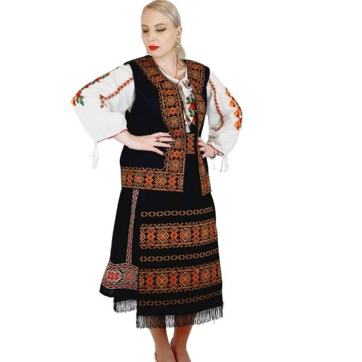 Costum Popular cu broderie traditionala Valentina [11]