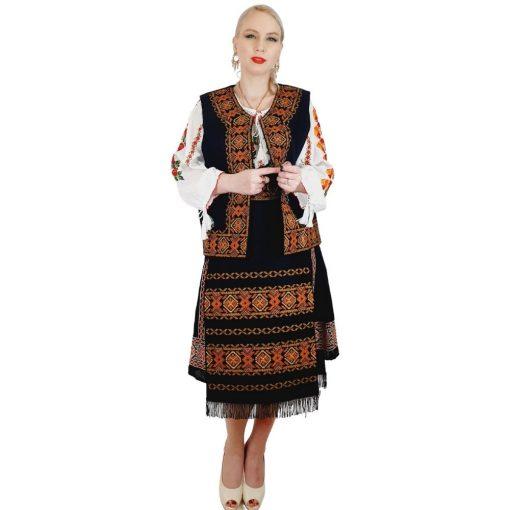 Costum Popular cu broderie traditionala Valentina [9]