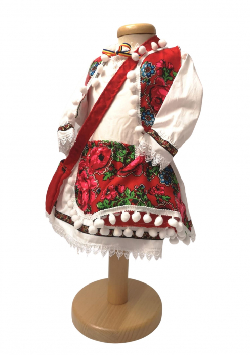 Costum Traditional Fetite Manuela (1 an la 8 ani ) [3]