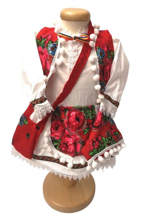Costum Traditional Fetite Manuela (1 an la 8 ani ) [4]
