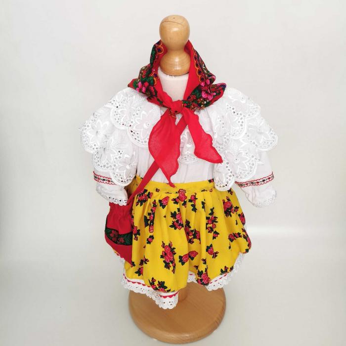 Costum Traditional Fetite 0-12 luni Mode VI [2]