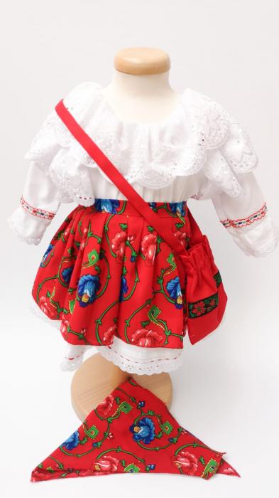 Costum Traditional Fetite 0-12 luni Model II [3]