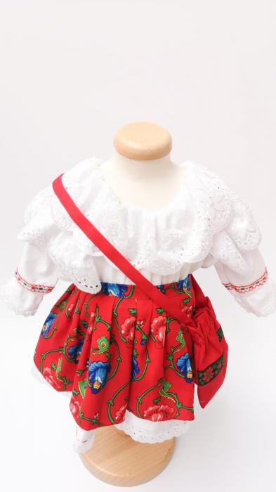Costum Traditional Fetite 0-12 luni Model II [4]