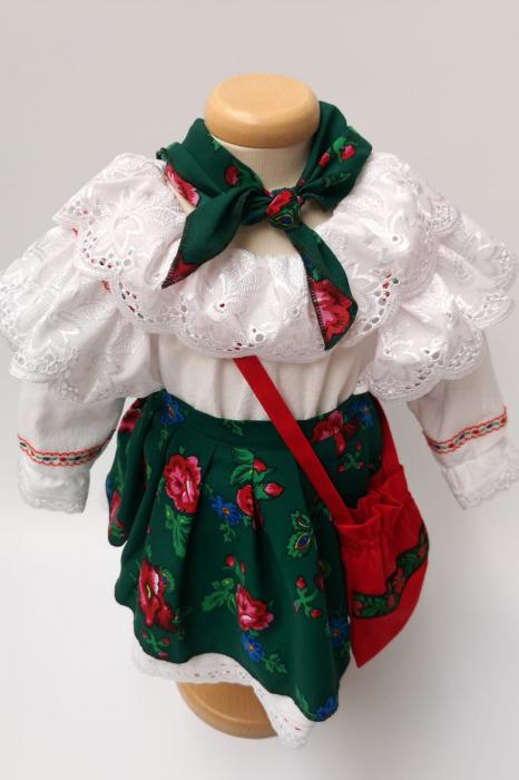 Costum Traditional Fetite 0-12 luni Model III [1]