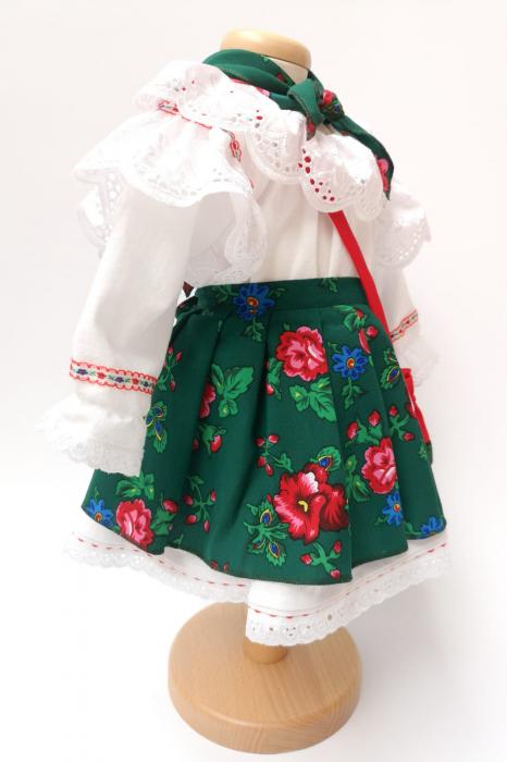 Costum Traditional Fetite 0-12 luni Model III [3]