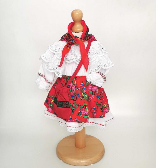 Costum Traditional Fetite 0-12 luni Model IV [3]