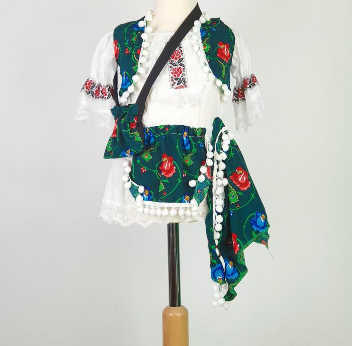 Costum Traditional Fetite 0-12 luni Model IV [0]