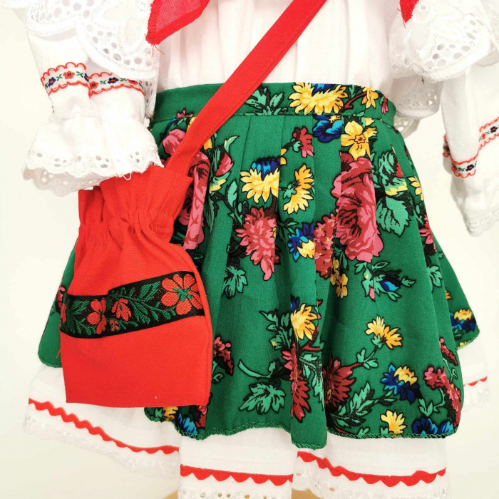 Costum Traditional Fetite 0-12 luni Mode V [2]